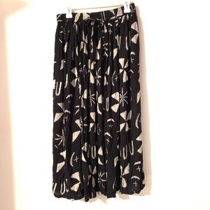 Orvis Maxi Skirt with Pockets   Size Small